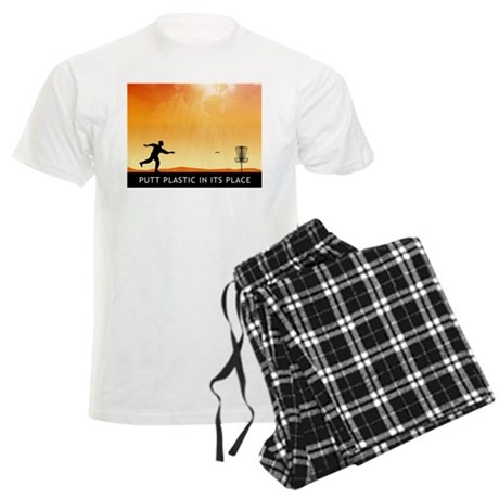 Putt Plastic In Its Place #7 Men's Light Pajamas