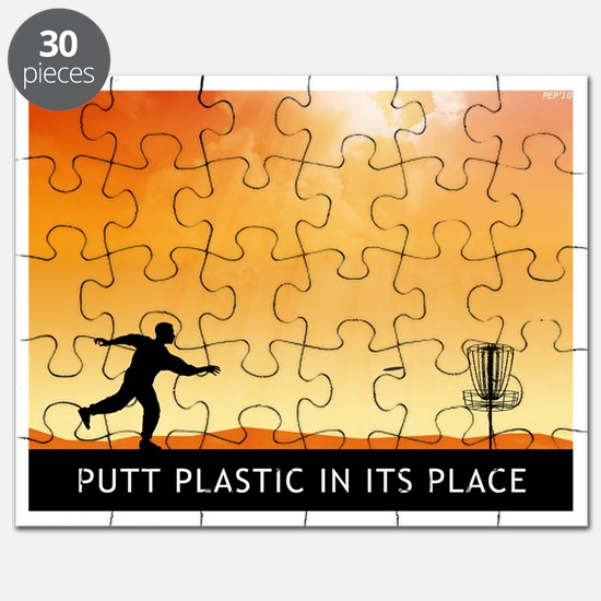 Putt Plastic In Its Place #7 Puzzle