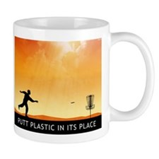 Putt Plastic In Its Place #7 Mug
