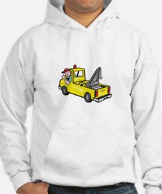 Tow Wrecker Truck Driver Thumbs Up Hoodie