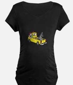 Tow Wrecker Truck Driver Thumbs Up T-Shirt