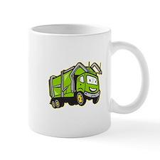 Garbage Rubbish Truck Cartoon Mug