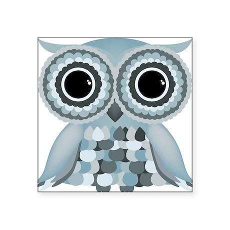 Little Blue Owl Sticker