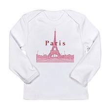 Paris Long Sleeve Infant T-Shirt