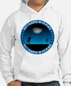 Putt Plastic In Its Place #8 Hoodie
