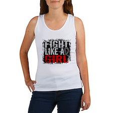 Fight Like a Girl 31.8 J Diabetes Women's Tank Top