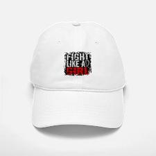 Fight Like a Girl 31.8 J Diabetes Baseball Baseball Cap