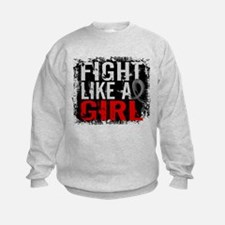 Fight Like a Girl 31.8 J Diabetes Sweatshirt