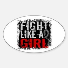 Fight Like a Girl 31.8 J Diabetes Decal