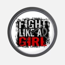 Fight Like a Girl 31.8 J Diabetes Wall Clock