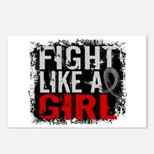 Fight Like a Girl 31.8 J Diabetes Postcards (Packa