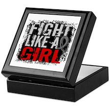 Fight Like a Girl 31.8 J Diabetes Keepsake Box