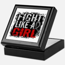 Fight Like a Girl 31.8 J Diabetes Keepsake Box