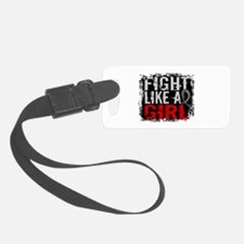Fight Like a Girl 31.8 J Diabetes Luggage Tag