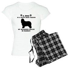 Bearded Collie Dog Breed Designs Pajamas