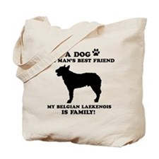 Belgian Laekenois Dog Breed Designs Tote Bag