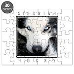 Husky Eyes Puzzle