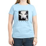 Husky Eyes Women's Light T-Shirt