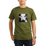 Husky Eyes Organic Men's T-Shirt (dark)
