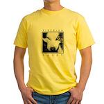 Husky Eyes Yellow T-Shirt