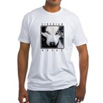 Husky Eyes Fitted T-Shirt