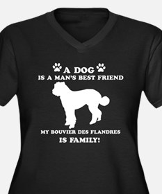 Bouvier Des Flandres Dog Breed Designs Women's Plu