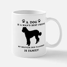 Bouvier Des Flandres Dog Breed Designs Mug