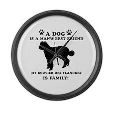 Bouvier Des Flandres Dog Breed Designs Large Wall