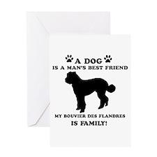 Bouvier Des Flandres Dog Breed Designs Greeting Ca