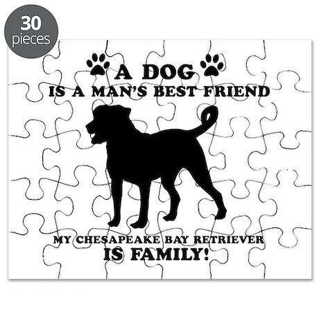 Chesapeake Bay Retriever Dog Breed Designs Puzzle