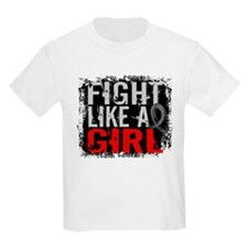 Fight Like a Girl 31.8 Diabetes T-Shirt