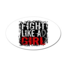Fight Like a Girl 31.8 Diabetes Wall Decal