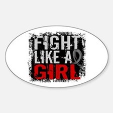 Fight Like a Girl 31.8 Diabetes Decal