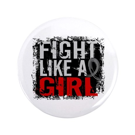 "Fight Like a Girl 31.8 Diabetes 3.5"" Button (100 p"