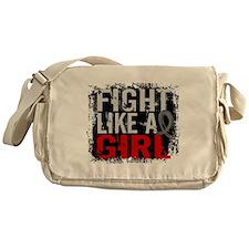 Fight Like a Girl 31.8 Diabetes Messenger Bag