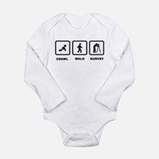 Land Surveying Long Sleeve Infant Bodysuit
