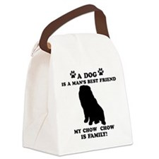 Chow Chow Dog Breed Designs Canvas Lunch Bag