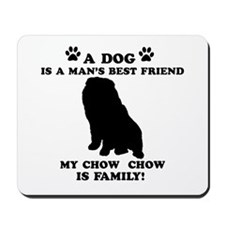 Chow Chow Dog Breed Designs Mousepad