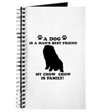 Chow Chow Dog Breed Designs Journal