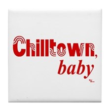 Chilltown baby Tile Coaster