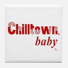 Chilltown baby Tile Coaster