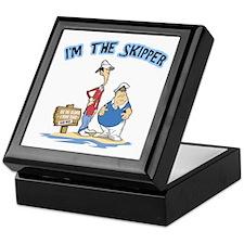 I'm The Skipper Keepsake Box