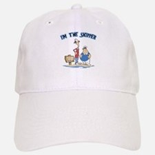 I'm The Skipper Baseball Baseball Cap
