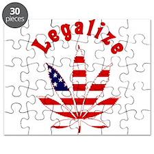 Legalize Marijuana in the US Puzzle