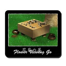 Flower Viewing Go Mousepad