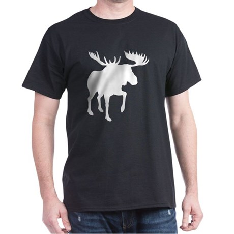 Moose Black T-Shirt