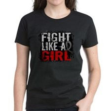 Fight Like a Girl 31.8 Brain Tumor Tee