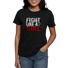 Fight Like a Girl 31.8 Brain Tumor Tee