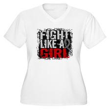 Fight Like a Girl 31.8 Brain Tumor T-Shirt