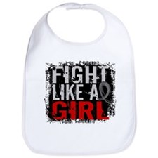 Fight Like a Girl 31.8 Brain Tumor Bib